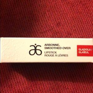 Arbonne Smoothed Over lipstick - gladiola